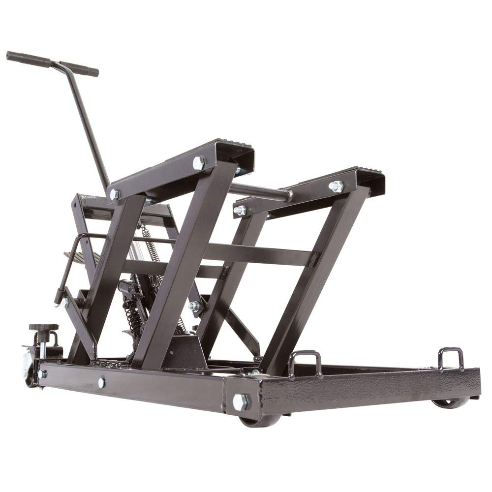 Rage Powersports Black Widow Foot-Operated Motorcycle or ATV Lift Jack Stand by Rage Powersports