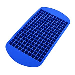 Large/Safe And Soft Silicon Ice Cube Tray, Blue
