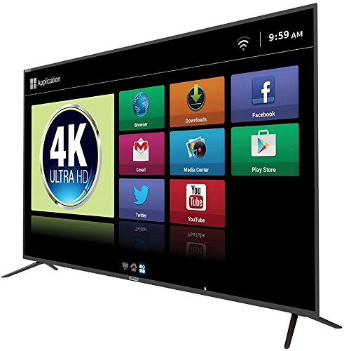 Mitashi 164 cm (64.5 inches) MIDE065V22 4KS Ultra HD 4K Smart LED TV with Free Air Mouse and 3 Years Warranty