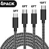 USB Type c Cable (White-Black)