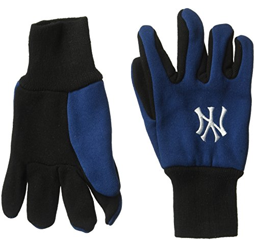 Mlb Color Team Kids - WinCraft MLB New York Yankees Youth Two Tone Gloves, Team Color, One Size
