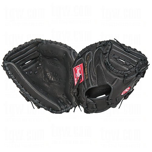 Rawlings Gold Glove Gamer 32.5 Inch Catchers Left Handed Baseball Glove - Mitt Glove Gold Catchers