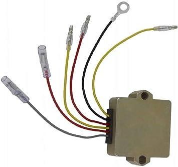 Rectifier Voltage Regulator For Mercury Mariner Outboard 6 Wire 815279-3 883072T