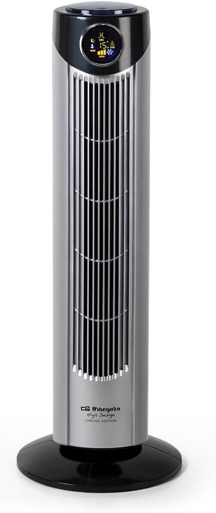 Orbegozo TWM 1010 Ventilador De Torre, 45 W, Gris/Negro