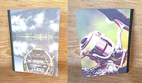 Custom Composition Notebooks - Fishing Fantasy