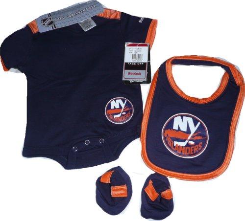 New York Islanders Onesie, Creeper, Bib Set 3 pc 18 Months
