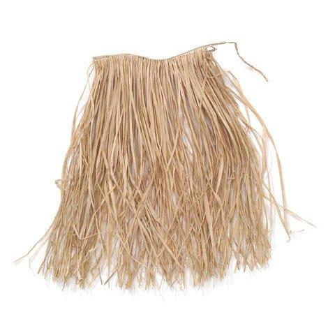 Bulk Buy: Darice DIY Crafts Raffia Hula Skirt Child Size Natural (12-Pack) - Hula Child Raffia Skirt