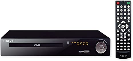 Nevir NVR-2355DVD - Reproductor DVD (TDT HD, 1080p, USB), color ...