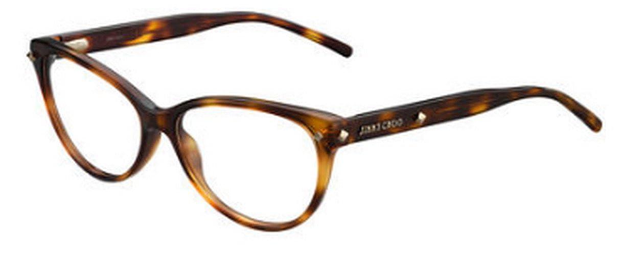 JIMMY CHOO Eyeglasses 163 005D Havana 54MM