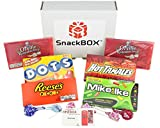 Redbox Movie Night Care Package for College Students, Military, Birthday, Mother's Day, Father's Day, or Back to School (12 Count) From Snack Box