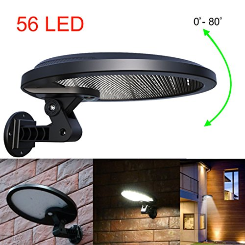 15 Led Solar Pir Motion Sensor Security Shed Light