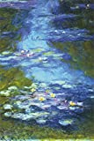 Water Lilies Poster Print by Claude Monet, 24x36 Collections Poster Print by Claude Monet, 24x36