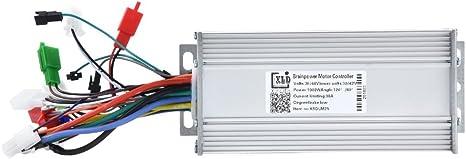 Dilwe Controlador Sin Escobillas 36V / 48V 1000W Regulador ...