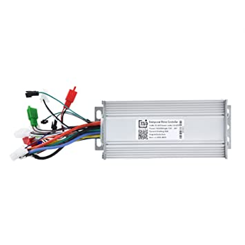 Motor Controller, 36V/48V 1000W Electric High Brushless Speed Controller  for Electric Bike Bicycle Scooter