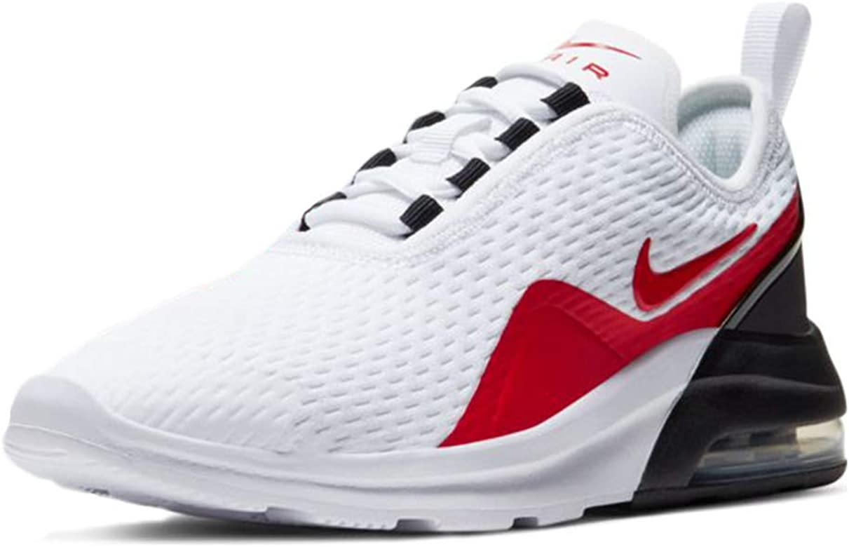 Nike Air MAX Motion 2 (GS), Zapatillas para Correr de Carretera Unisex niños, White University Red Black, 38 EU: Amazon.es: Zapatos y complementos
