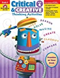 Critical and Creative Thinking Activities, Grade 4, Evan-Moor, 1596734000