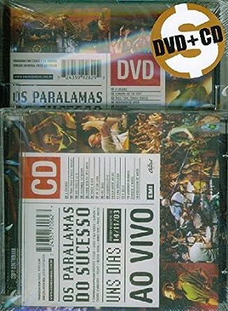 Amazon Com Uns Dias Ao Vivo Dvd Cd Ed Limitada