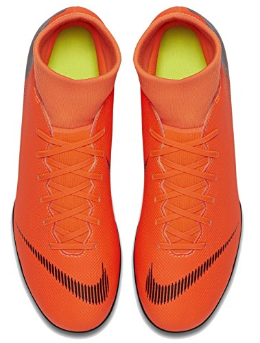 VI Superfly 810 Black T Orange Multicolore Mercurial Club Nike Total AZn6Ex