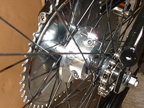 80cc BIKE REAR HUB 1 5 inch USE YOUR STEEL SPROCKET THAT CAME IN ENGINE KIT