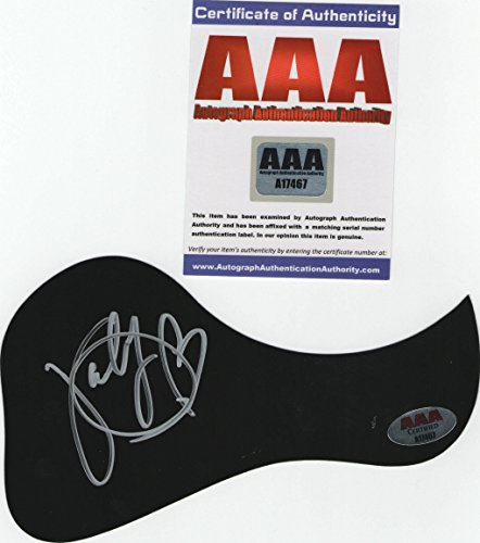 Katy Perry Autographed Guitar Pick Guard