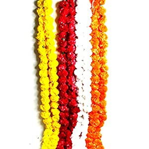 SHOPEE Artificial Flowers Plastic (Multicolour, 8 Piece)