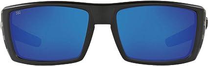 Costa Del Mar Sunglasses Rafael Blackout Silver Mirror 580G NEW @ Otto/'s Tackle