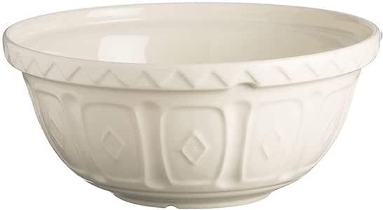 Mason Cash Cream Mixing Bowl - 4.25 Quart