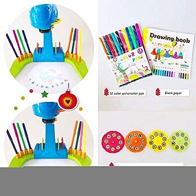 Shihong-G Aprenda a Dibujar para niños Sketchers Proyector Art ...