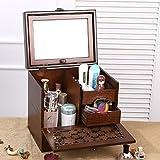jewelry storage box/Wood box/ Chinese-style retro makeup Kit-A