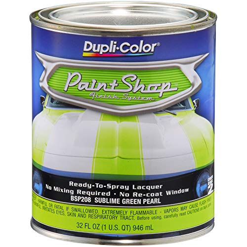 Dupli-Color BSP208 Sublime Green Pearl Paint Shop Finish System - 32 oz. - Lime Time Pearl