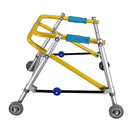 EGCLJ Andador Marco Plegable Caminar Altura Ajustable ...