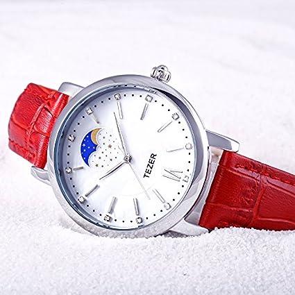 Amazon.com: Reloj De Mujer Women Casual Quartz Wristwatch Relogio Feminino Para Damas RE0069: Watches
