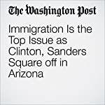 Immigration Is the Top Issue as Clinton, Sanders Square off in Arizona | Anne Gearan,John Wagner
