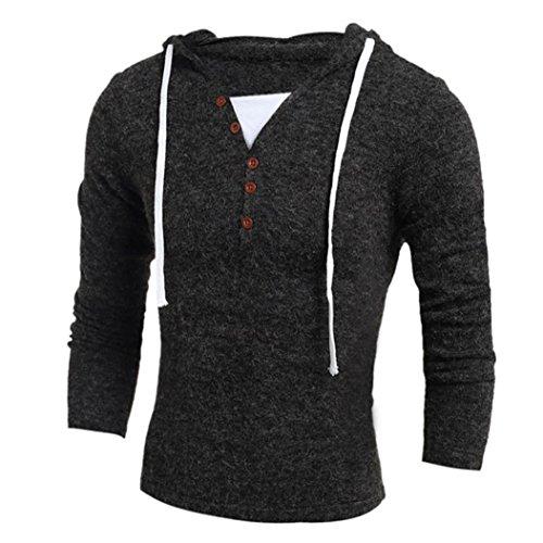 Autumn and winter men's thermal underwear sets(Dark Grey) - 7