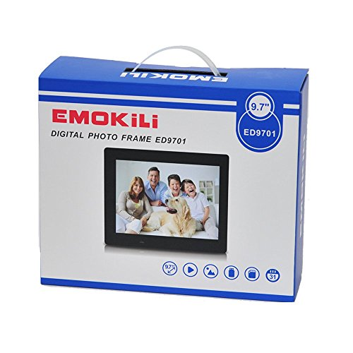 best Digital Picture Frame 9.7-Inches by EMOKILI Digital Photo Frame ...