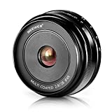 Neewer 28mm f/2.8 Manual Focus Prime Fixed Lens for OLMPUS and PANASONIC APS-C Digital Cameras, Such as OLYMPUS: E-M1/M5/M10, E-P5E-PL3/PL5/PL6/PL7, PANASONIC: GM1/2, GX1/2/7/8, GF5/6/7