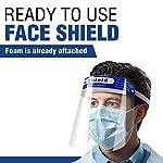 SB-Sicherheits-Gesichtsschutz-vollstndiger-Schutz-breites-Visier-resistent-Anti-Beschlag-Glser-leicht-verstellbar-transparent-Unisex-10-Stck