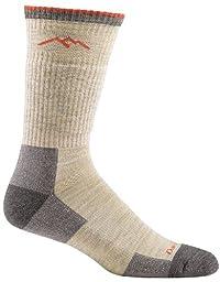 Darn Tough Vermont Men\'s Merino Wool Boot Cushion Hiking Socks, Oatmeal, Medium