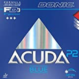 Donic Rubber Acuda Blue P2, 2.00 mm red and black