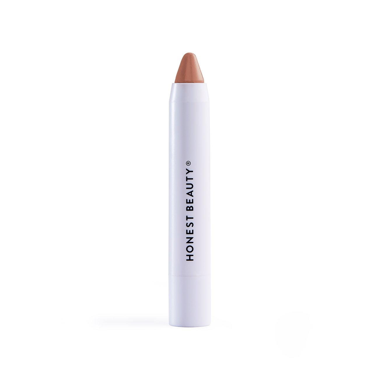 Honest Beauty Lip Crayon-Demi-Matte, Honey   Lightweight, High-Impact Color with Jojoba Oil & Shea Butter   Paraben Free, Silicone Free, Dermatologist Tested, Cruelty Free   0.105 oz.