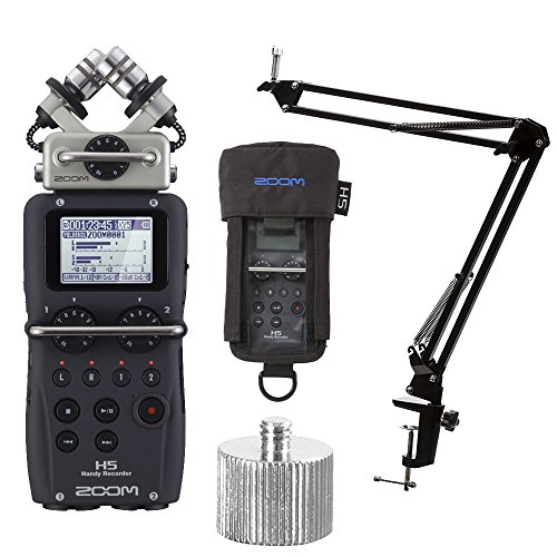 ZOOM H5 Handy Recorder with Knox Boom Arm & Case