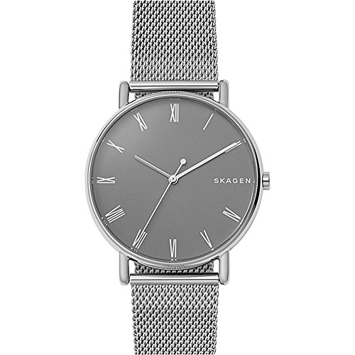 Skagen Men's 'Signatur' Quartz Stainless Steel Casual Watch, Color:Silver-Toned (Model: SKW6428) by Skagen