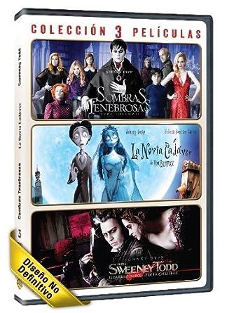 Pack: Sombras Tenebrosas + La Novia Cadáver + Sweeney Todd: El Barbero Diabólico De La Calle Fleet DVD: Amazon.es: Johnny Depp, Helena Bonham, Alan Rickman, Tim Burton, Johnny Depp, Helena Bonham, Johnny