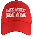 Donald Trump Make America Great Again (100% USA Made) Red Hat Velcro