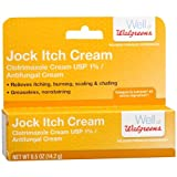 Walgreens Jock Itch Relief Antifungal Cream 0.5 oz