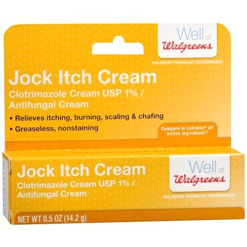 Walgreens Jock Itch Relief Antifungal Cream 0.5 oz