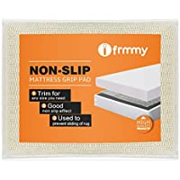 Non Slip Mattress Gripper and Area Rug Pad, Keeps Mattress Rug In Place - Full Size 52.5 x 74 (4.4x 6.2)
