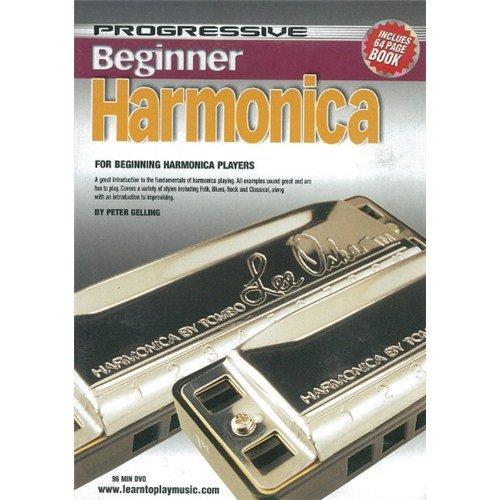 Harmonica Progressive (BEGINNER HARMONICA: DVD WITH 72 PAGE BOOKLET)