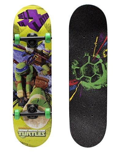 """PlayWheels Teenage Mutant Ninja Turtles 28"""" Consummate Skateboard - Ninja Tough Graphic"""