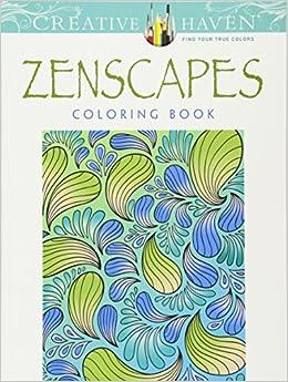 Amazon.com: Creative Haven Zenscapes Coloring Book (Adult Coloring ...